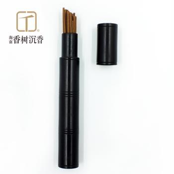 海岛香树|沉香线香熏香Ⅱ|黑檀木管10.5cm