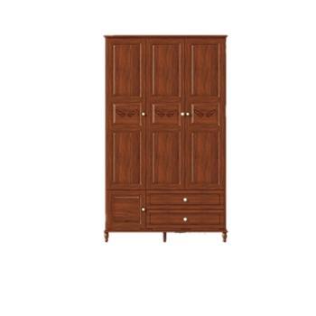 希尚美式乡村全实木衣柜