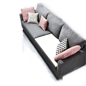 轻奢布艺沙发客厅北欧家具套装组合