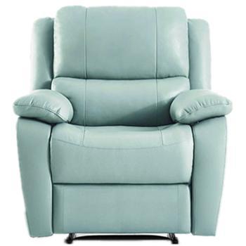 单人真皮沙发简约现代客厅多功能智能电动躺椅沙发