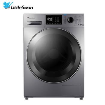 小天鹅(LittleSwan)10公斤洗烘一体滚筒洗衣机全自动水魔方护色护形智能控制蒸汽烘干机TD100V86WMADY5