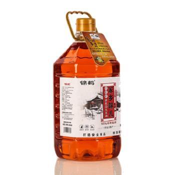 锦鹤家乡味儿冷鲜榨原生态非转基因大豆油5升