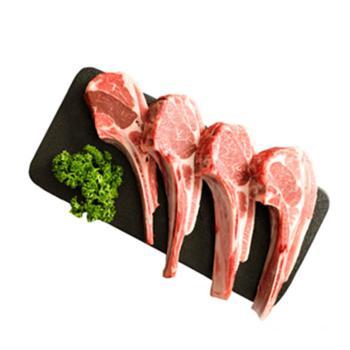 乐拓爱尚羊天然羔羊肉法式小切1斤