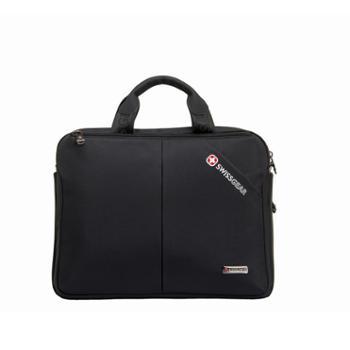 瑞士军刀商务手提15.6寸电脑包公文包单肩包斜挎包