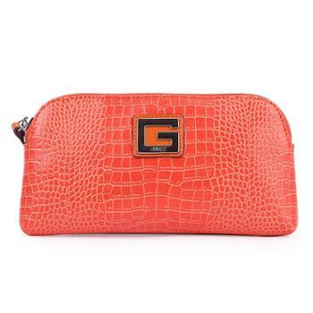 GUESS美国盖尔斯新款时尚鳄鱼纹纯色女士手包手拿包手抓包晚宴包化妆包多功能小包