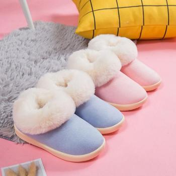 蚂蚁之恋 新款冬季儿童棉鞋舒适保暖防滑可爱童鞋毛绒雪地靴 8812