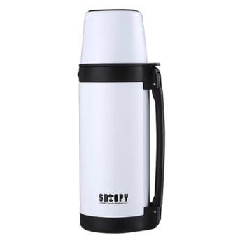 史努比/SNOOPY 户外家用大容量车载旅行运动水壶304不锈钢1.1L保温水壶