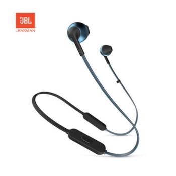 JBL T205 BT无线蓝牙耳机半入耳式重低音