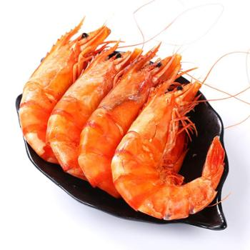 【景明】 尚品大虾 纯天然即食 烤干大虾 对虾干 黄河口特产 特大 海捕 大虾 10-12头/斤 500g/盒