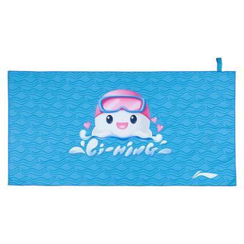 李宁儿童浴巾70x140cm大号