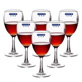 乐美雅优雅高脚杯红酒杯190ml(6只装)E5973