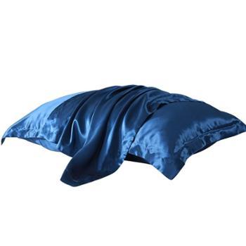 凯诗风尚桑蚕丝枕套真丝枕套一对装48*74cm
