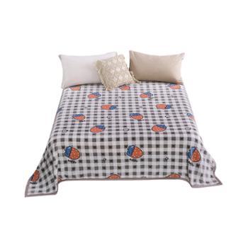凯诗风尚精品毛毯盖毯法兰绒毯冬季床单