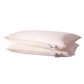 凯诗风尚乳胶枕磁悬浮纯棉单只装