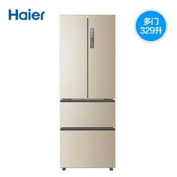 Haier/海尔冰箱BCD-329WDVL329升法式四门变频冰箱风冷无霜