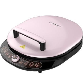 利仁(Liven)LR-X3008电饼铛不粘涂层双面悬浮加热新款加深家用自动断电煎烙饼锅烤盘烤肉