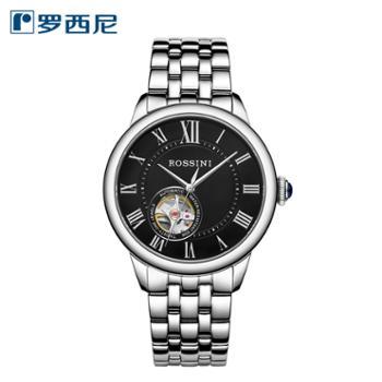 .罗西尼5901W04B35周年感恩回馈款自动机械表简约儒雅男士手表
