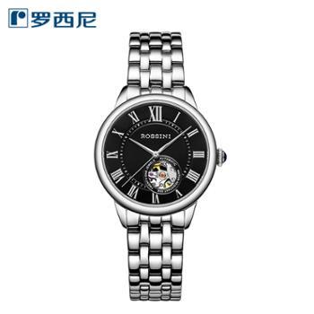 罗西尼5902W04B35周年感恩回馈款自动机械表简约儒雅女士手表