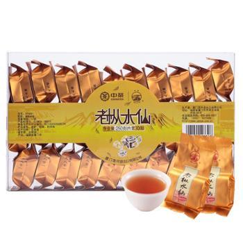 中茶海堤乌龙茶岩茶中足火老枞水仙250g