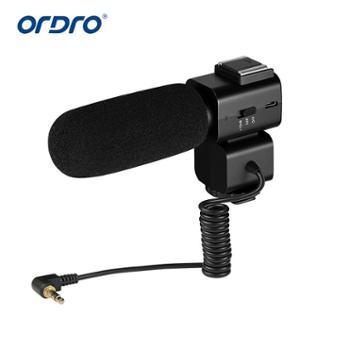 摄像机配件 麦克风热靴变焦麦克风扩音器可充电CM520