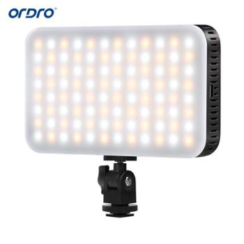Ordro欧达摄像机配件SL-80 LED补光灯 双色温调节