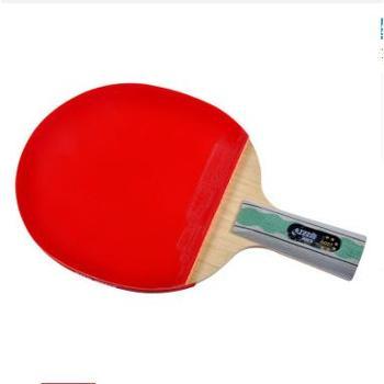 红双喜直拍双面长反胶乒乓球拍全能型金牌进攻6星X6007(A6007)1支