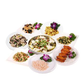 苏知味 8道菜年夜饭半成品套餐礼盒 组合装