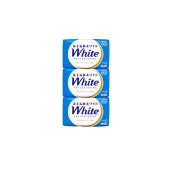 花王/KAO 植物香皂130g*3牛奶香