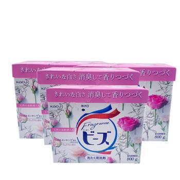 花王酵素洗衣粉玫瑰味 800g*4