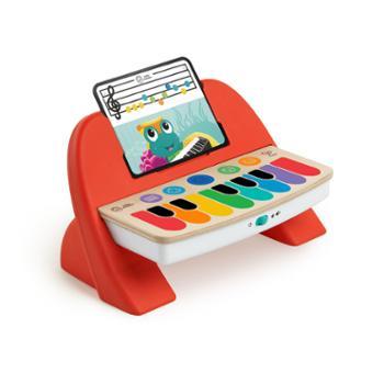 Hape儿童魔法智能触控钢琴木制黑科技