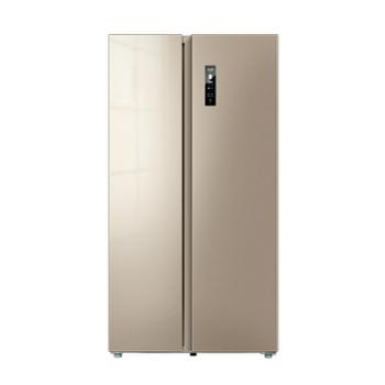 美菱/MeiLing对开门一级能效双变频风冷无霜净味大容量电冰箱BCD-569WPCX