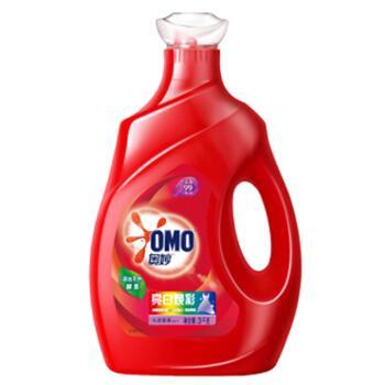 奥妙 亮白焕彩洗衣液 3kg 去渍除菌 浓缩天然酵素护色 持久莲花香