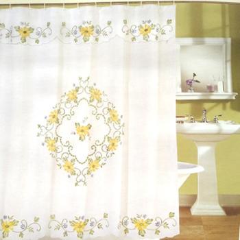 云龙家纺半透明窗帘窗纱浴帘卧室阳台飘窗客厅纱帘
