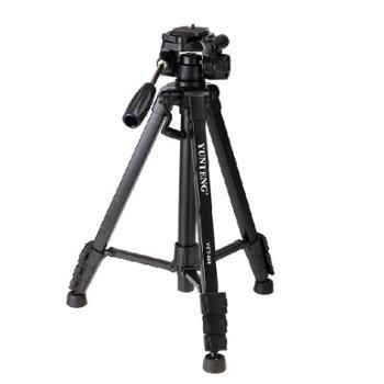 云腾VCT-668RM便携三角架云台摄影摄像机手机微单相机三脚架单反