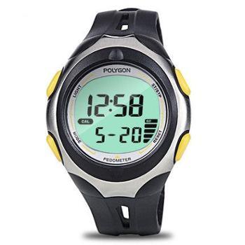 Polygon3D电子计步器手表手环 学生中老年人健身走路跑步运动手表