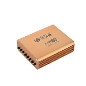 歌贝斯Q9汽车数字DSD功放4声道大功率车载音响低音炮DSP无损功放