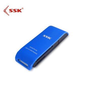 sk飚王usb3.0高速多合一读卡器TF SD卡单反相机二合一读卡器331