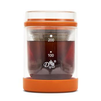帝国咖啡壶不锈钢浸泡式滤袋挂耳壶冲茶器 冷热萃壶办公一壶一杯