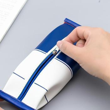 个性创意笔袋简约韩国小清新文具袋男女生初中生小学生可爱笔盒大学生大容量ins搞怪趣味仿真零食草莓牛奶盒