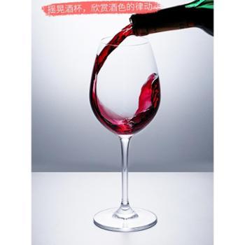 欧式无铅玻璃红酒杯装醒酒器杯架葡萄酒杯高脚杯酒具套装家用