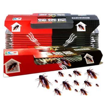 蟑螂屋捕捉器除灭蟑螂药一窝端神器防杀小蟑螂贴无毒厨房克星家用