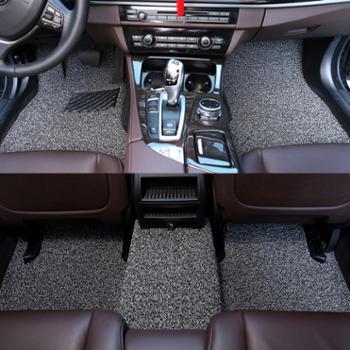 汽车丝圈脚垫适配千款车型专车专用定制易洗速干防水防滑可裁剪15毫米