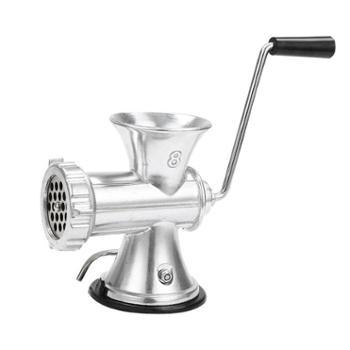 手动绞肉机家用灌肠机手摇小型绞菜搅碎肉不锈钢色香肠磨辣椒粉器