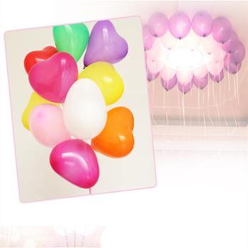 气球 婚房布置 结婚用品婚庆用品 婚礼 婚房装饰 心形气球 情人节