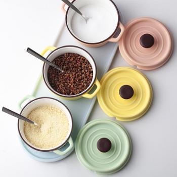 德国plazotta 马卡龙陶瓷糖罐盐罐调料罐调味瓶调料碗3件套 0.25L