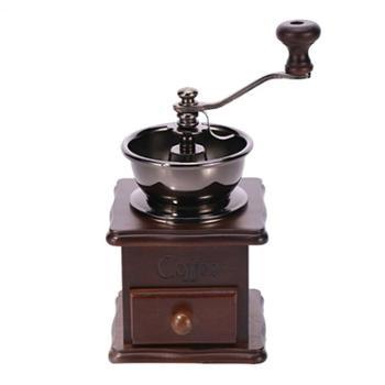 亚米 小型手摇咖啡磨豆机手磨咖啡机研磨器家用手动咖啡豆研磨机