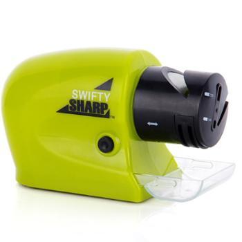 厨房电动磨刀器磨刀石 家用多功能快速磨刀机砂轮 磨剪刀菜刀工具