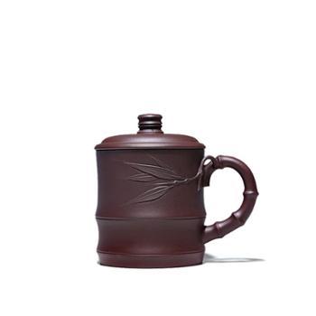 玖砂 宜兴紫砂壶 全手工名家制壶专业国助工许老师紫砂杯竹香盖杯