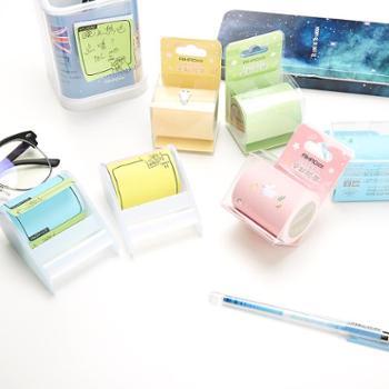 爱好韩国创意彩色学生用可撕便利贴小清新可爱n次贴抽拉式便签纸