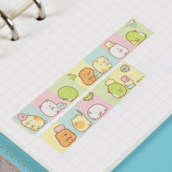 韩版角落生物和纸胶带 创意可爱日记装饰贴胶条薄diy手帐胶带纸